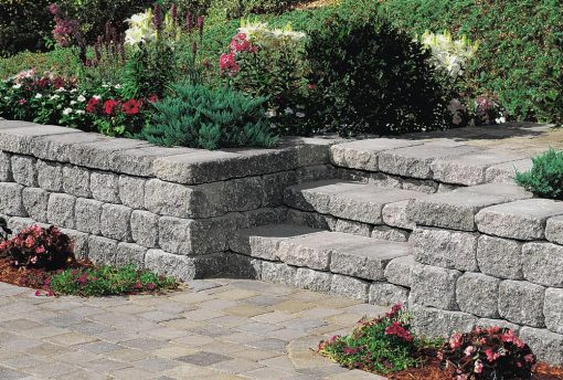 retaining wall quarry blend cape cod