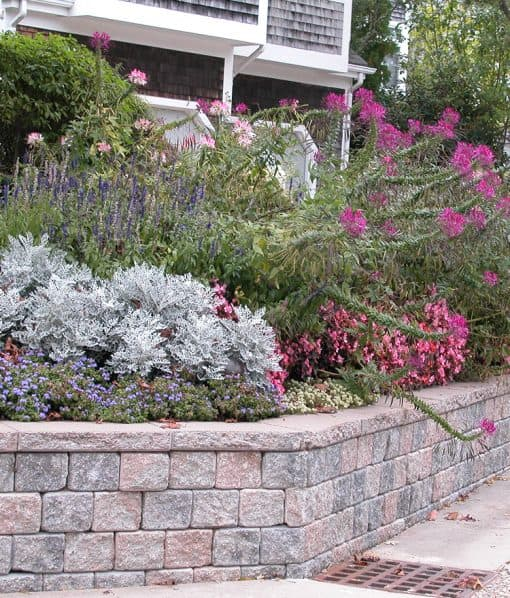 retaining wall rosewood blend cape cod