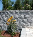 retaining wall stonewall quarry blend