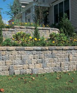 Retaining Walls Amp Stone Manufactured Concrete Wallstone
