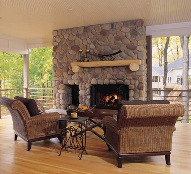 Boulder Creek River Rock Stone Veneer Stonewood Products