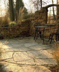 stone flagstone rosetta brown boston ma