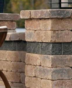 wall stone patio Nantucket Island
