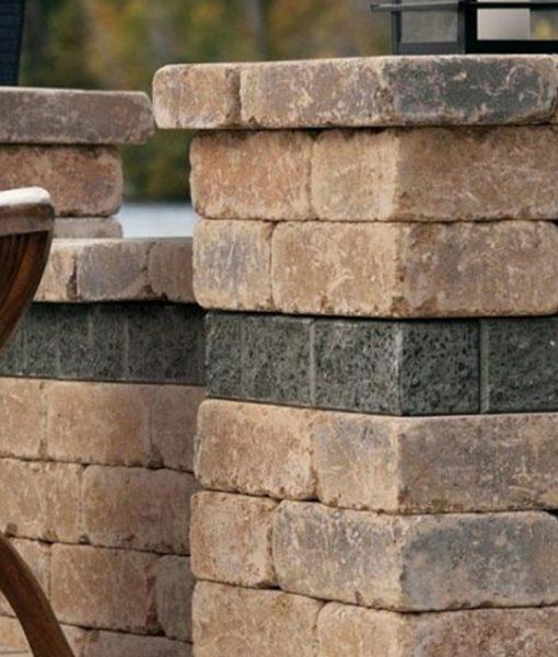 wall stone patio Nantucket Island