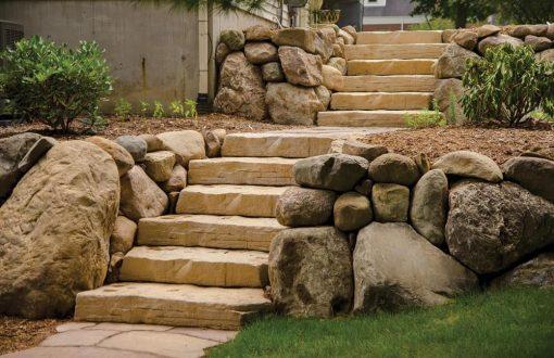 stone steps irregular manufactured rosetta cape cod ma