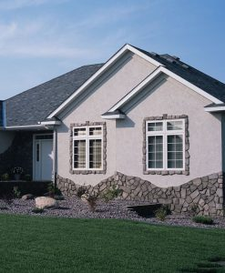veneer cut fieldstone regal gray