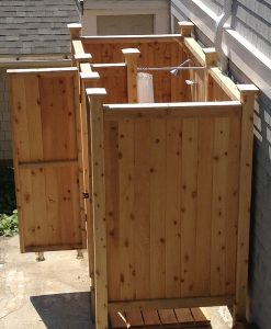 free standing complete shower kit Hyannis MA