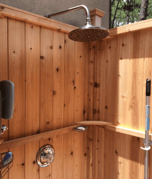 Outdoor Kitchens Kits Cape Cod Ma Ct Ny: Cedar Outdoor Showers