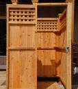 outdoor-shower-kit-enlosure-free-standing-lattice