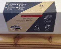 cedar outdoor showers box