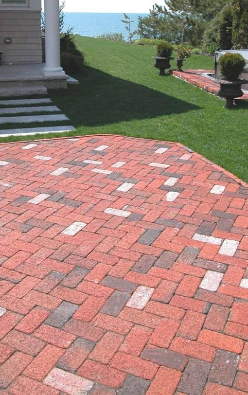 kf flashed tumbled pavers