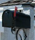 Mailbox-black-post