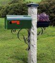 Mailbox-bracket-black-leaf-curves