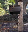 Mailbox-bracket-copper-leaf