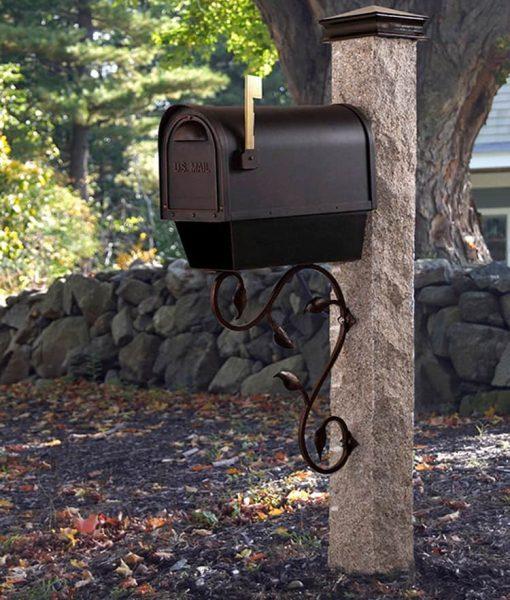 copper-leaf-iron-bracket