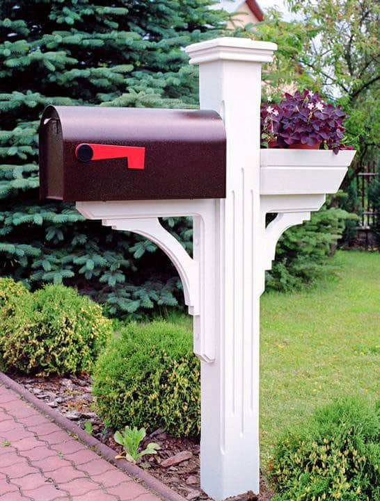 mailbox post. Mailbox Copper Post