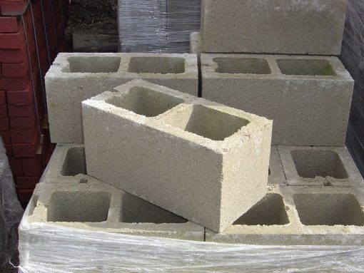 concrete cinder block