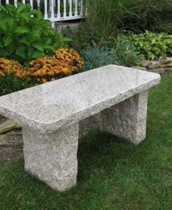 gold granite bench 40 inch