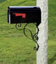 granite-mailbox-post-grass