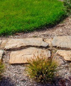 nantucket stepping stone paver walkway