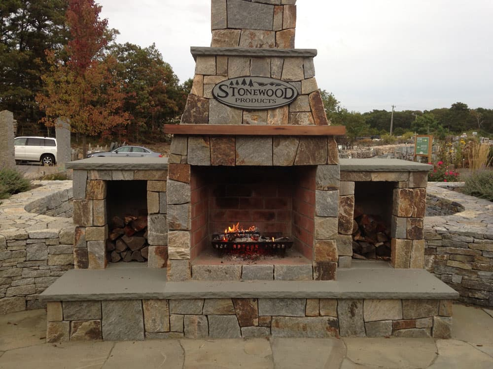 Outdoor fireplaces stone fireplace kits cape cod ma for Where to buy outdoor fireplace