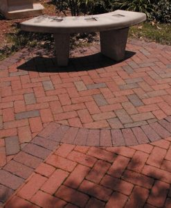 pine hall brick paver patio