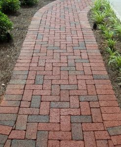 walkway brick pavers pine hall