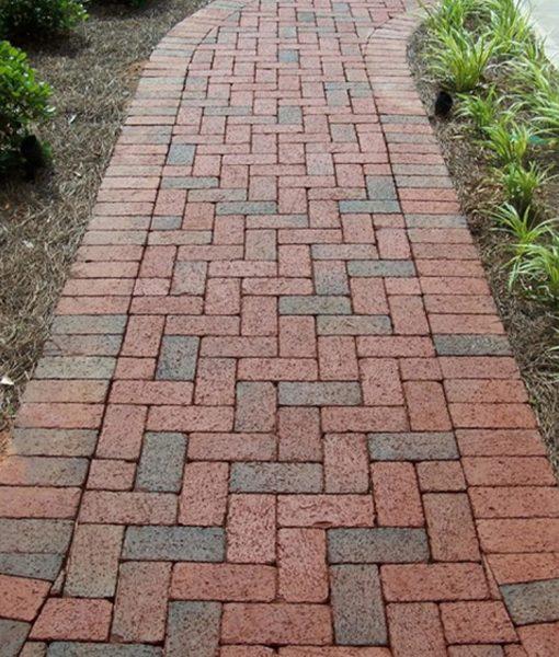 walkway brick pavers pine hall