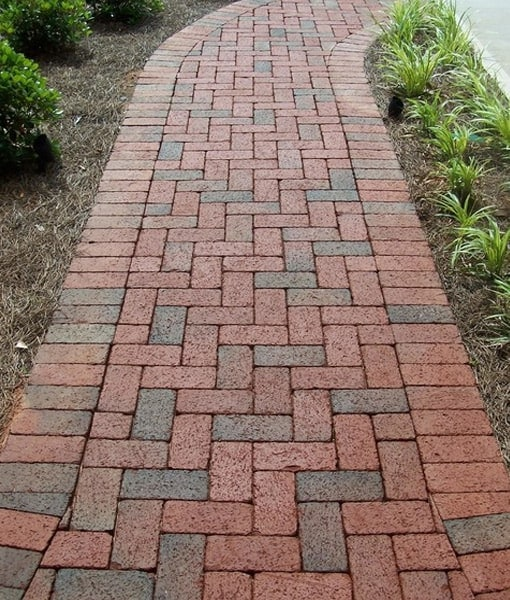 Brilliant 60 Clay Brick Pavers Decorating Design Of Clay