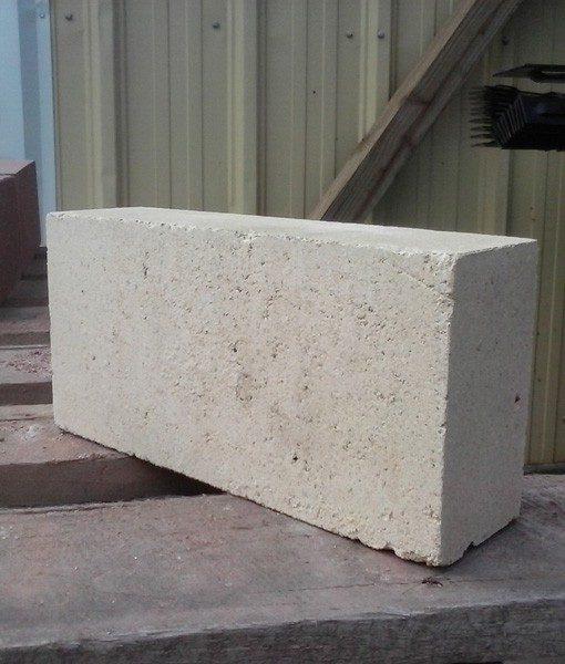 White fire brick single