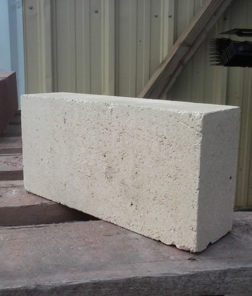 White fire brick single