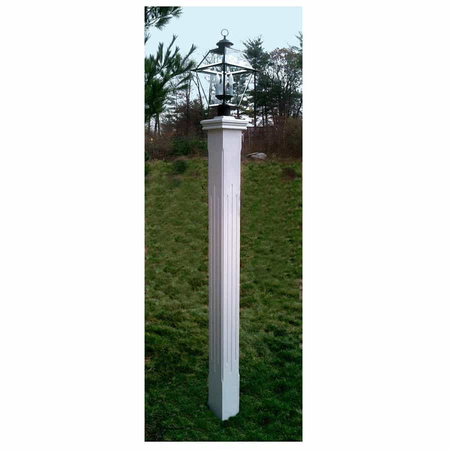 Outdoor Wooden Post Lights: Outdoor Cedar Lamp Posts