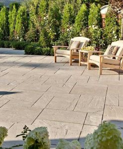 Rock Garden Brown Aberdeen Stone Slab Pavers