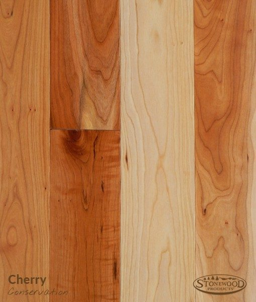 conservation grade cherry prefinished