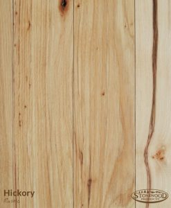 rustic hickory floors