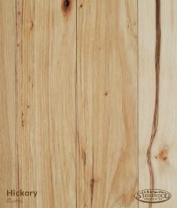 Hickory Floor Rustic Grade Plank