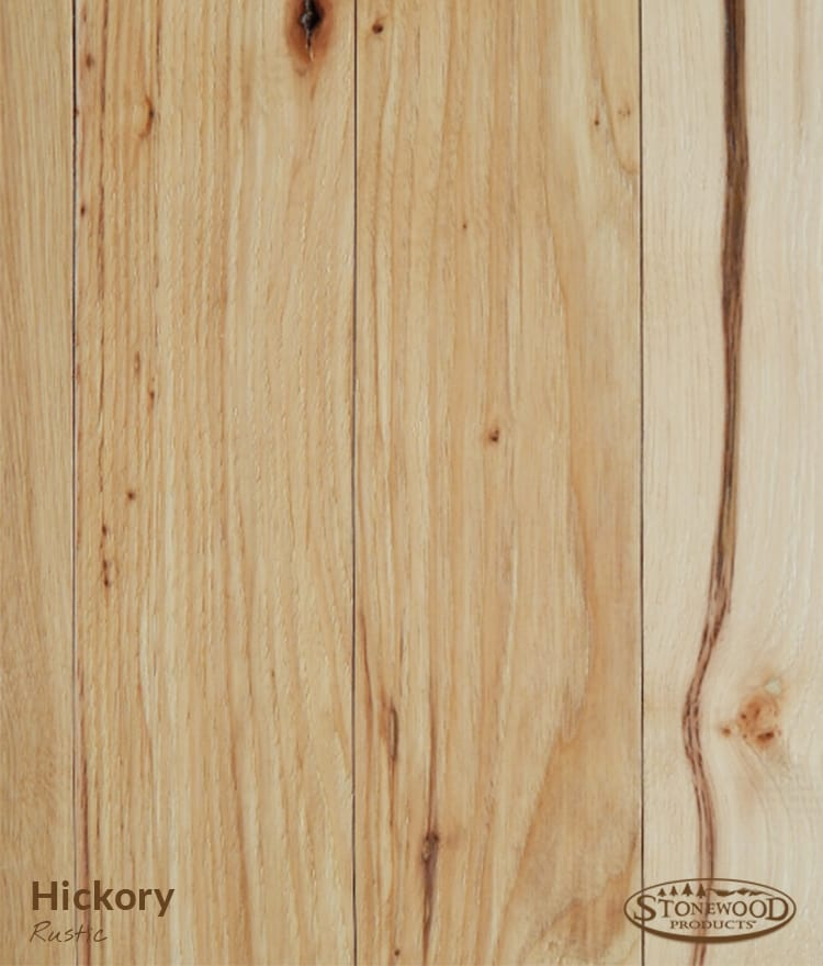 Rustic Hickory Plank Flooring