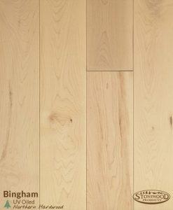 Oiled Bingham Maple Wood Flooring