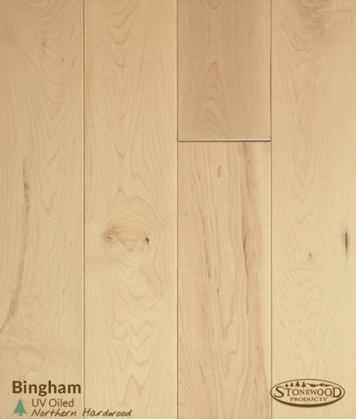 Oiled Bingham Maple Wood Flooring