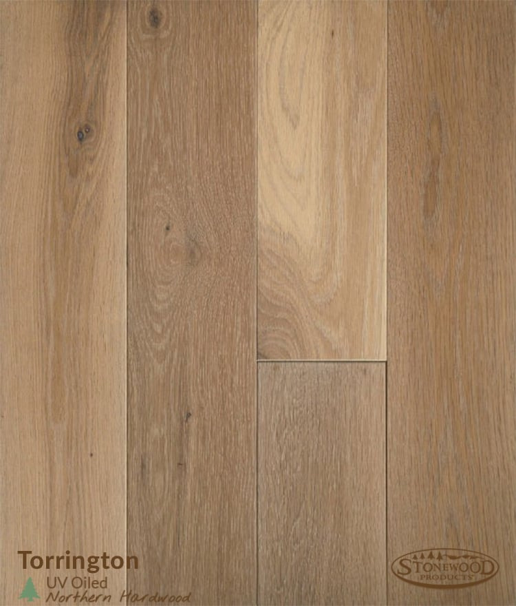Oiled White Oak Hardwood Flooring - Torrington