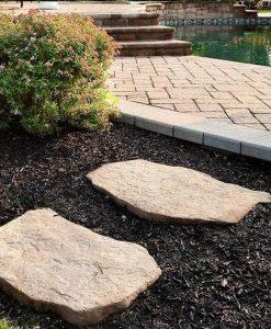Maya stone steps