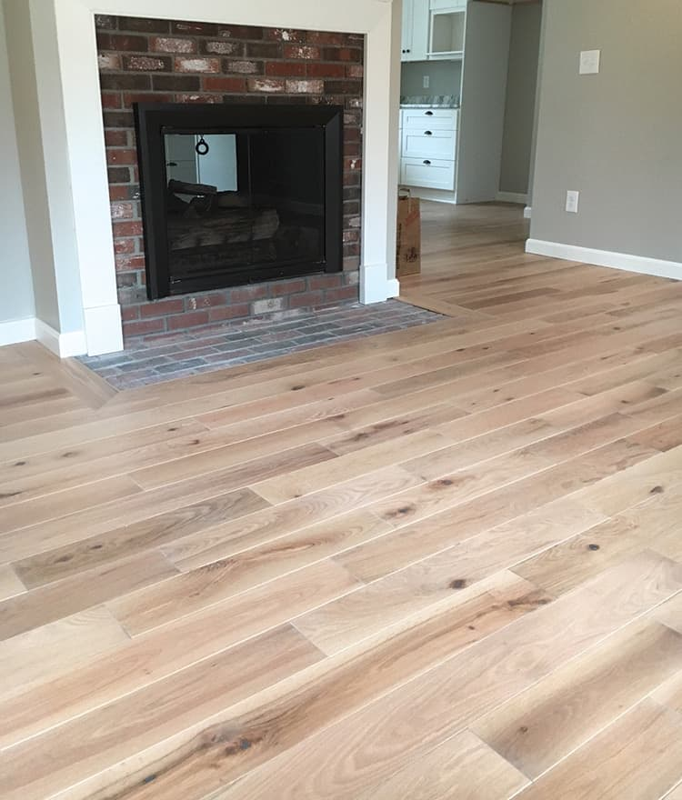 Prefinished oak hardwood flooring cape cod ma nh for Flooring cape cod