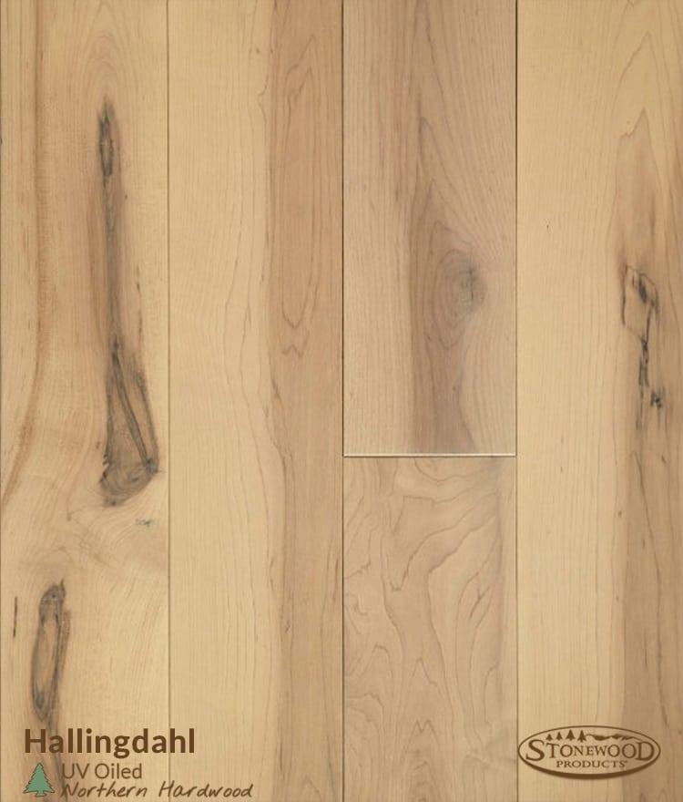Oiled Hardwood Hallingdal Maple Wood Flooring