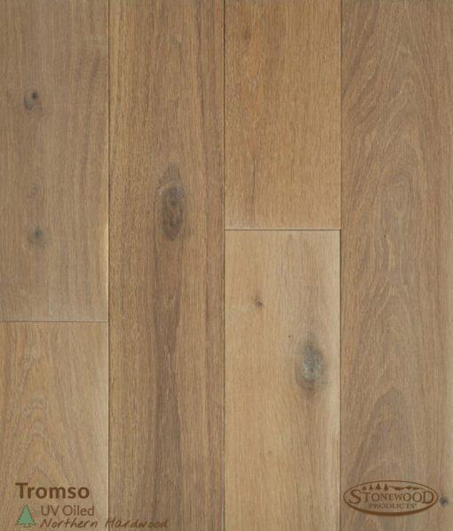 Pre-oiled wood floors