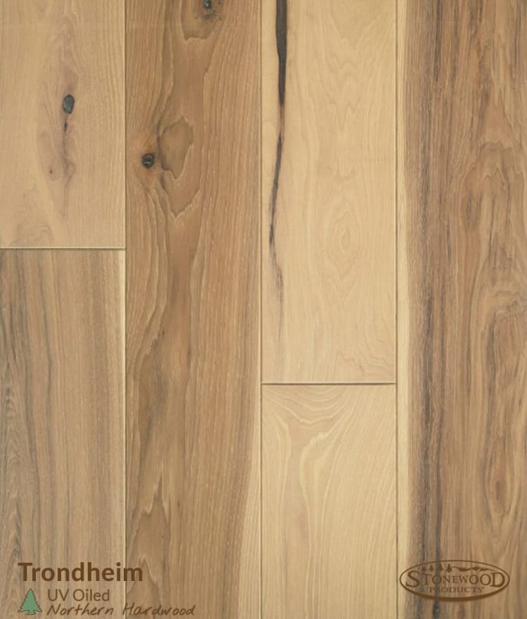 Hickory Prefinished Uv Oil Flooring