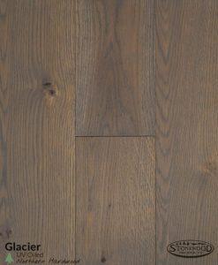 Glacier White Oak Flooring
