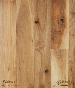 walnut flooring conservation grade