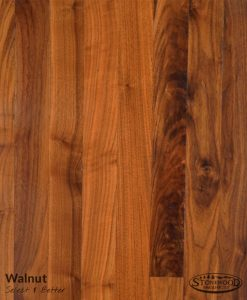 Solid Hardwood Walnut S&B Grade Flooring
