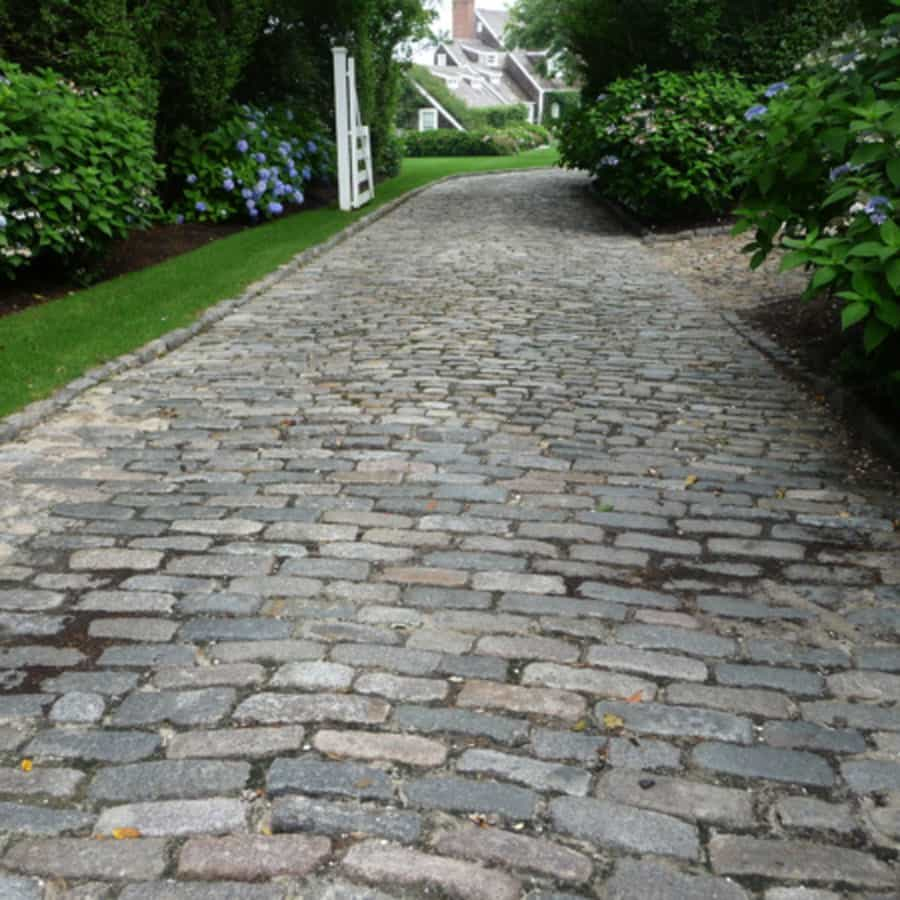 Granite Cobblestone Pavers : Antique cobblestone cape cod boston ma ri ct