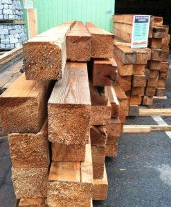 stock cedar landscape timbers